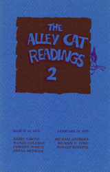 Cover image of The Alley Cat Readings 2