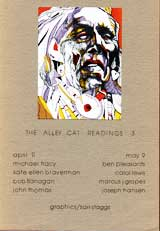 Cover image of The Alley Cat Readings 3